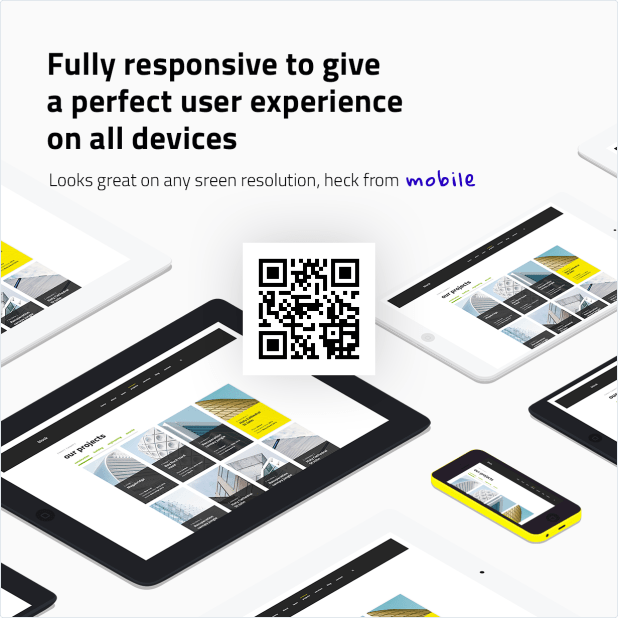 Fully Responsive HTML Template