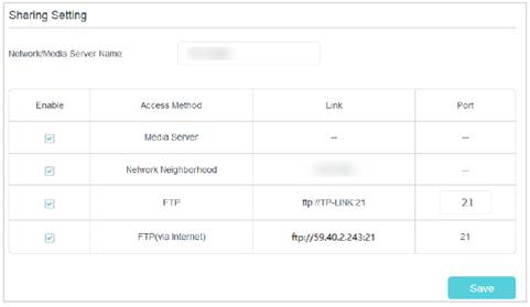 How to set up and use the FTP Server Function on TP-Link