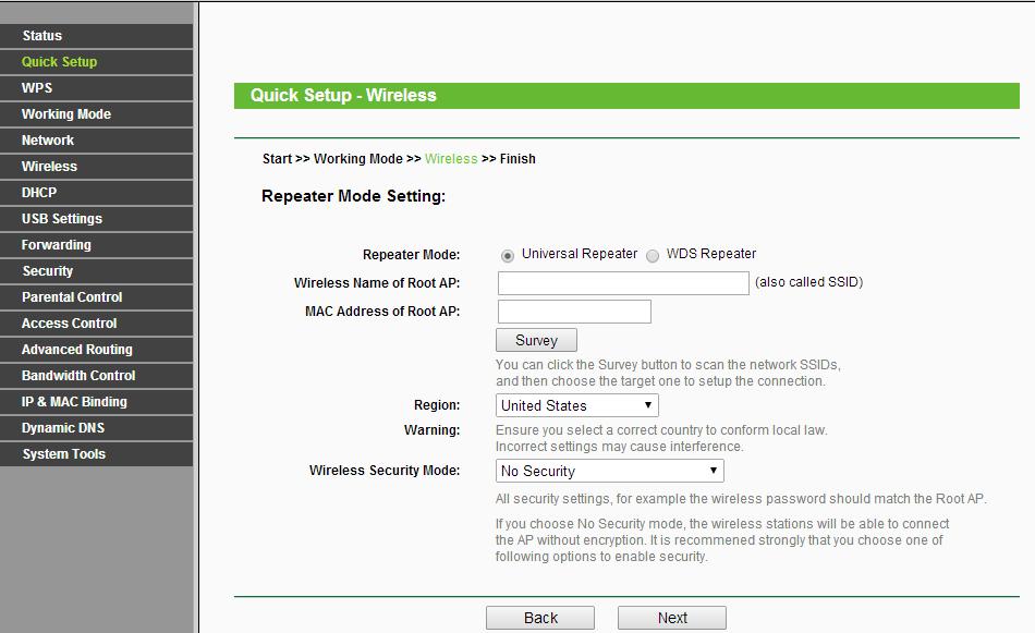 如何將TL-WR710N設定為範圍擴展器(中繼器模式)模式呢?   TP-Link 臺灣地區