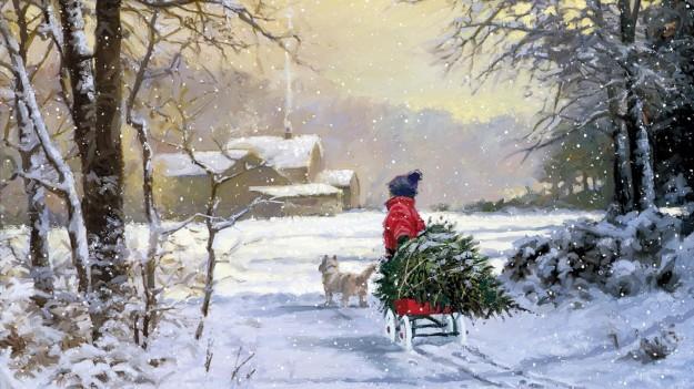 Sfondi di Natale Foto  Trackback