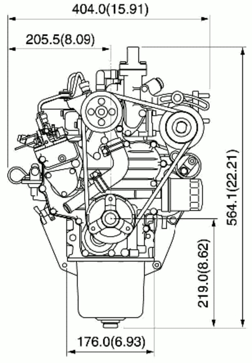 KUBOTA TRACTOR DIESEL Z482 Z602 D662 D722 E2B REPAIR