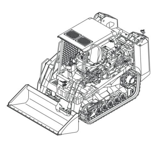 wiring diagram for ctl60 gehl track loader