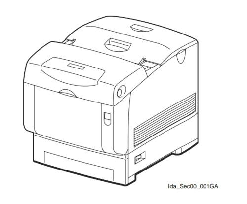 FUJI XEROX DocuPrint C2535A Color Laser Printer Service