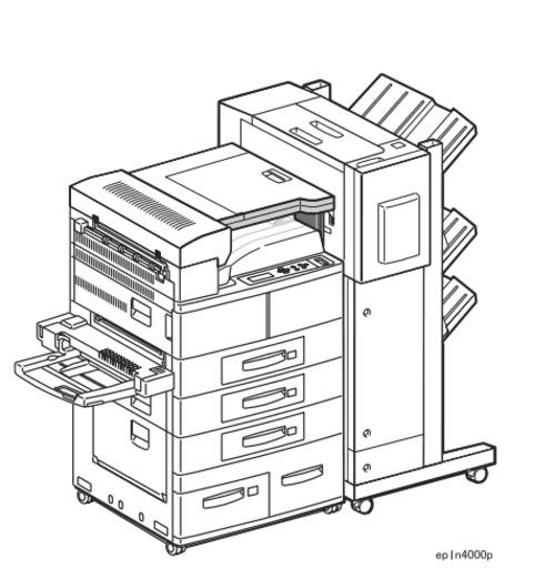Epson EPL-N4000 / EPL-N4000+ Laser Printer Service Repair