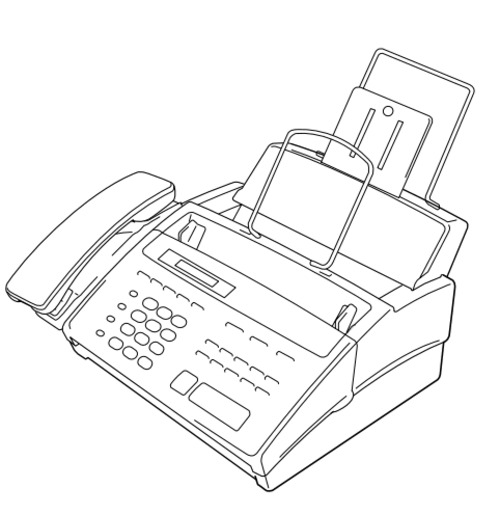 Brother Facsimile Equipment FAX-910 / FAX-920 / FAX-921
