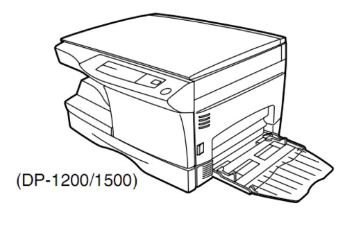 TOSHIBA DP1200, DP1500 DIGITAL PLAIN PAPER COPIER Service