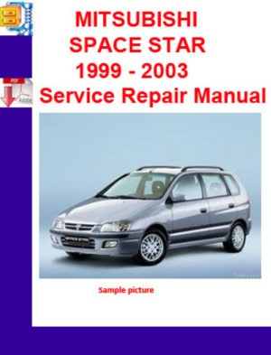 MITSUBISHI SPACE STAR 1999  2003 Service Repair Manual