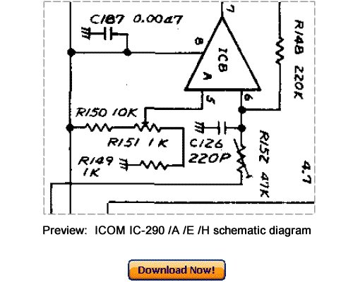 Download ICOM IC-290A IC-290E IC-290H Service Repair