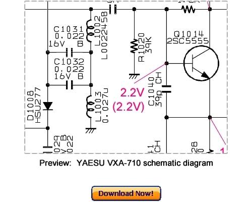 Download VERTEX YAESU VXA-710 Service Repair Manual