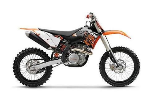KTM 450 / 505 SX-F XC-F service manual repair 2009