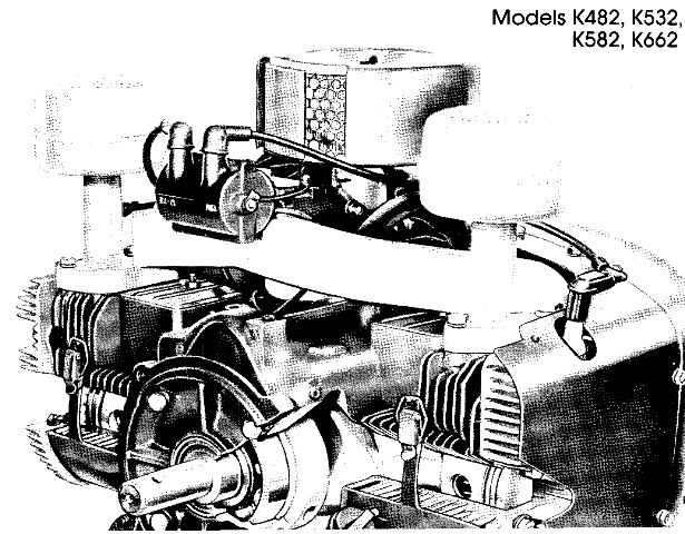 KOHLER K482 K532 K582 K662 Service Repair Manual twin
