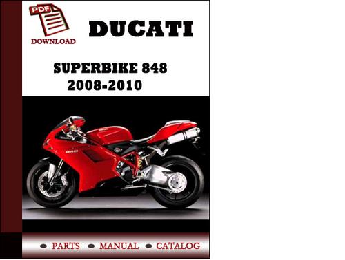 Wiring Diagram Ducati Superbike 848 Parts Manual Catalogue 2008 2009