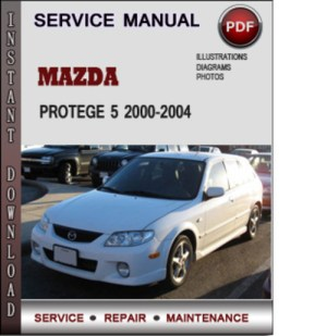 Mazda Protege 5 20002004 Factory Service Repair Manual