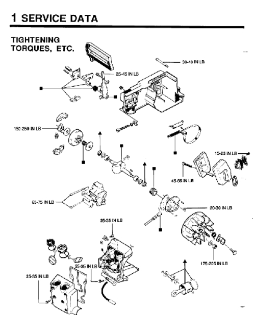 Manuals Husqvarna 359g Chainsaw Factory Service Work Shop Manual