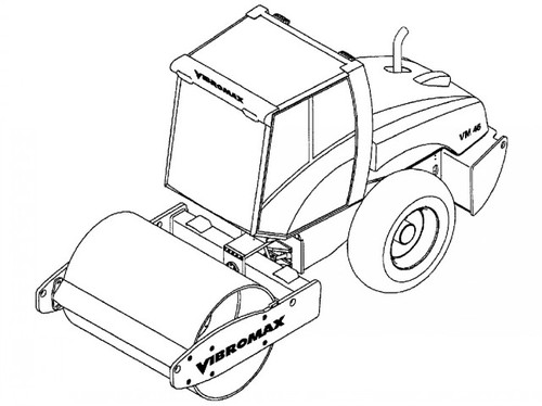 JCB VIBROMAX VM46 Single Drum Roller Service Repair Manual