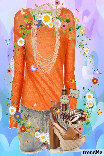 combinação de moda - Saudades do Verão