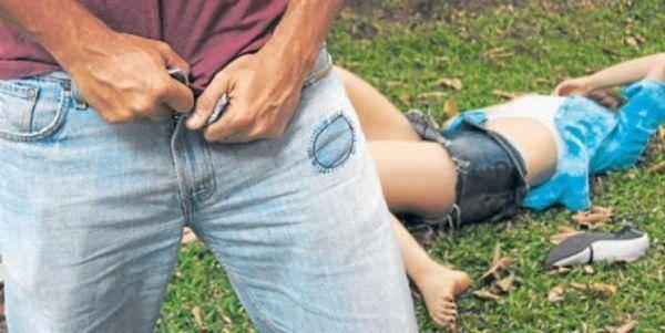 Resultado de imagen para imagenes mujer violada en un descampado