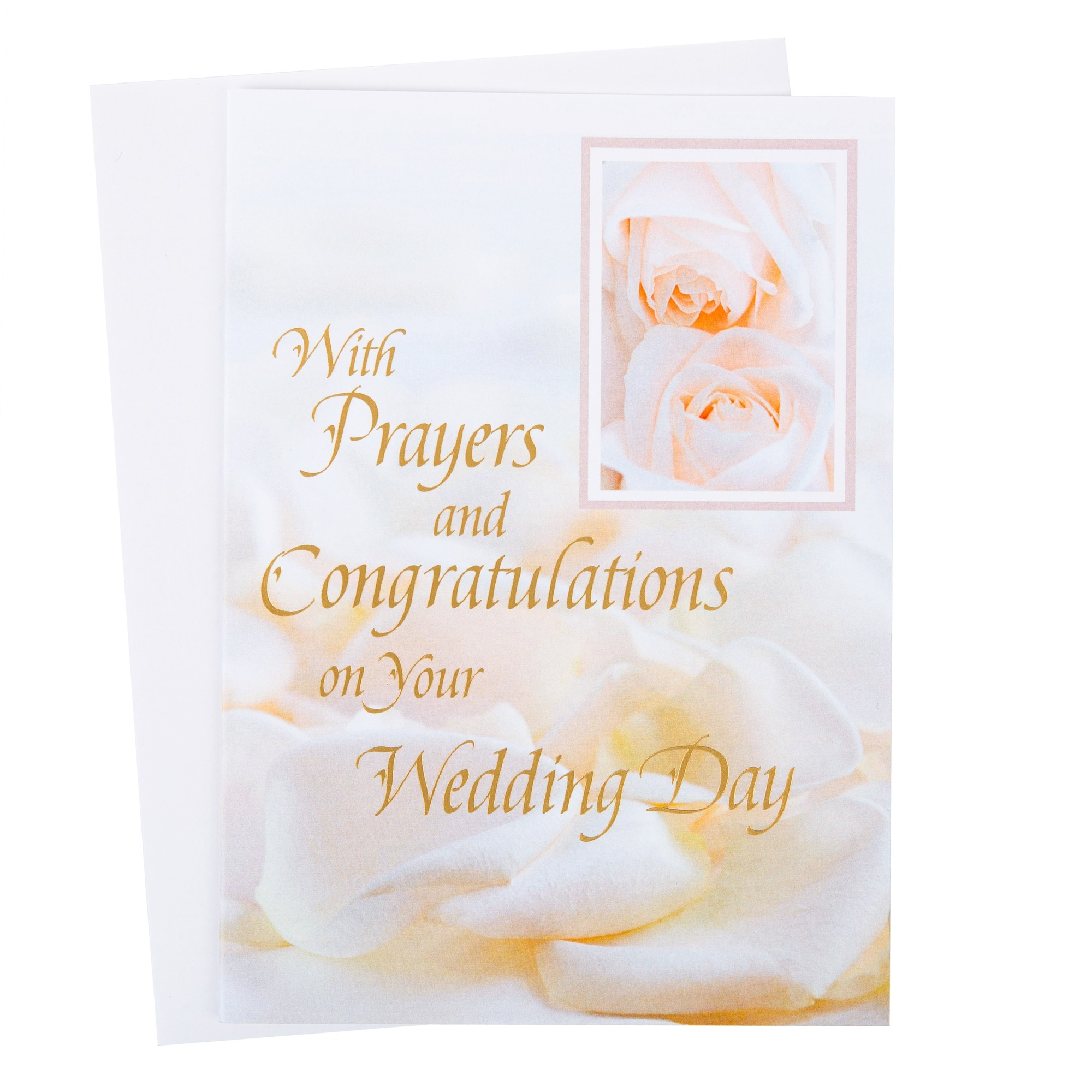 prayers congratulations wedding card