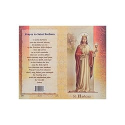St Barbara Saint Medals Prayer Cards Amp More The