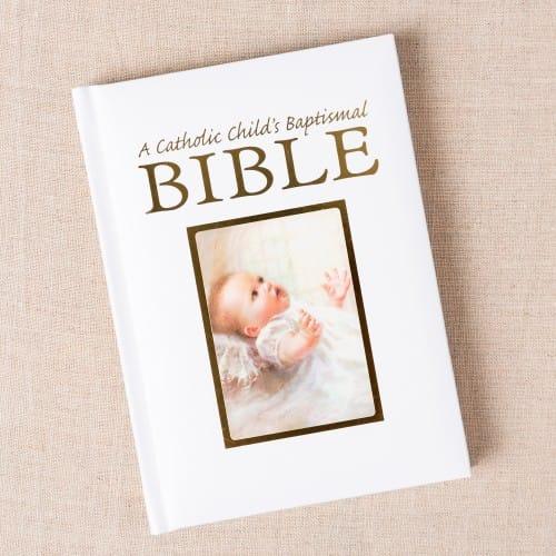 A Catholic Child's Baptismal Bible