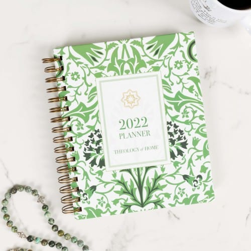 Theology of Home 2021 Planner