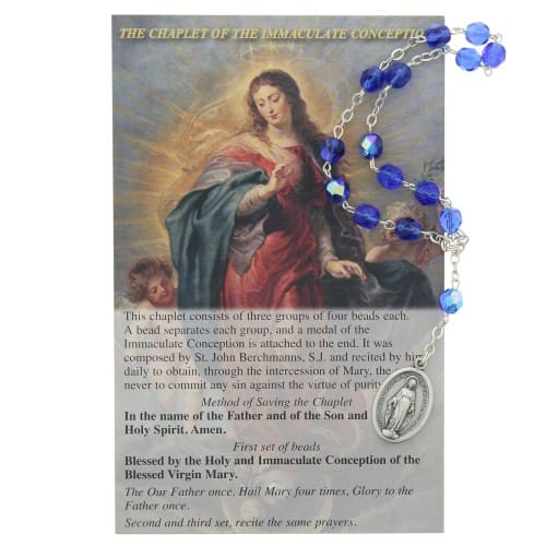Chaplet of the Immaculate Conception