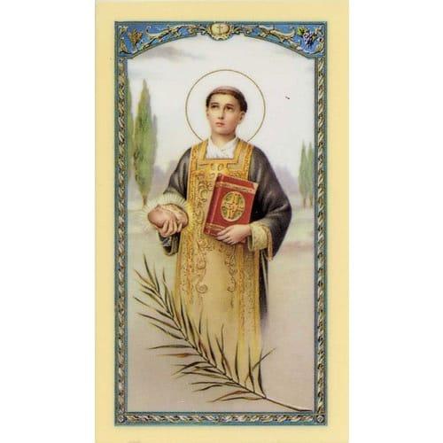 St Stephen Prayer Card The Catholic Company