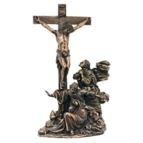 Crucifixion Masterpiece Statue 11''