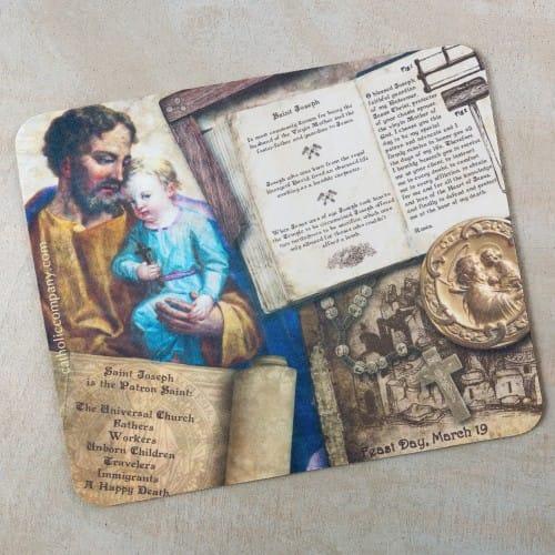 St. Joseph Story Mousepad