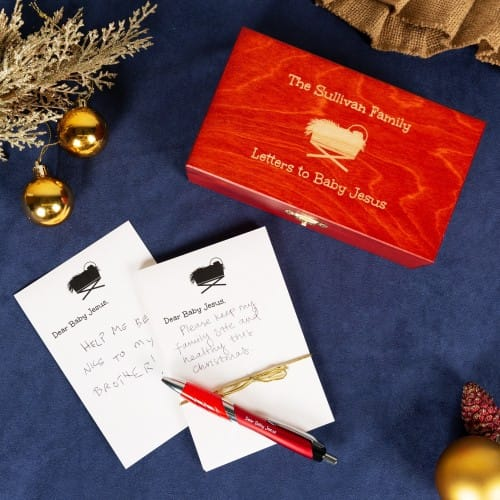Letters to Baby Jesus Box