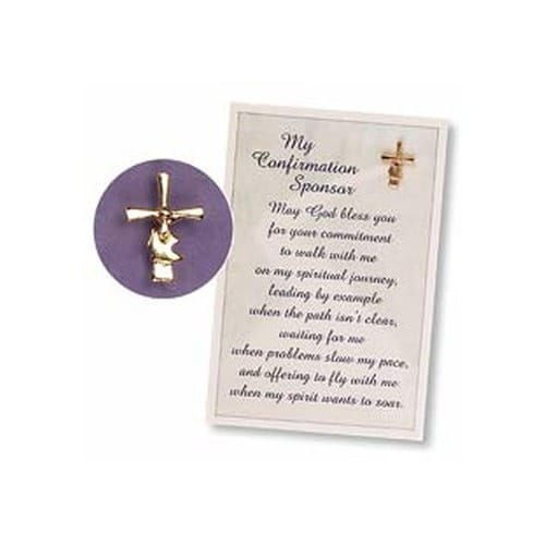Confirmation Sponsor Pin And Card The Catholic Company