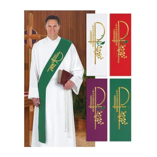 Deacon Stole - Green | The Catholic Company