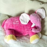 """God Bless You"" Elephant Pillow Buddies | The Catholic Company"