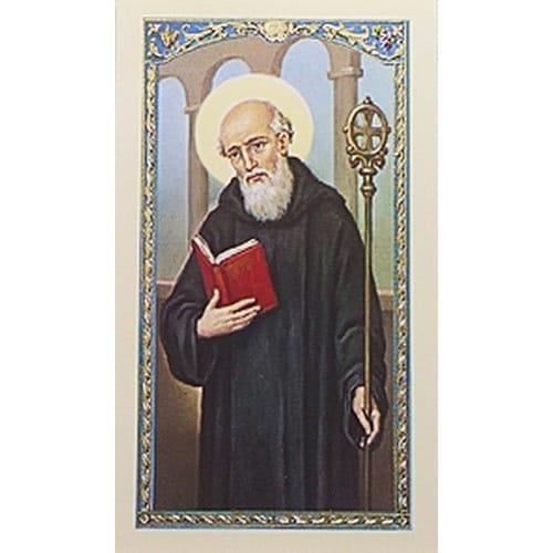 Prayer to St Benedict  Prayer Card  The Catholic Company