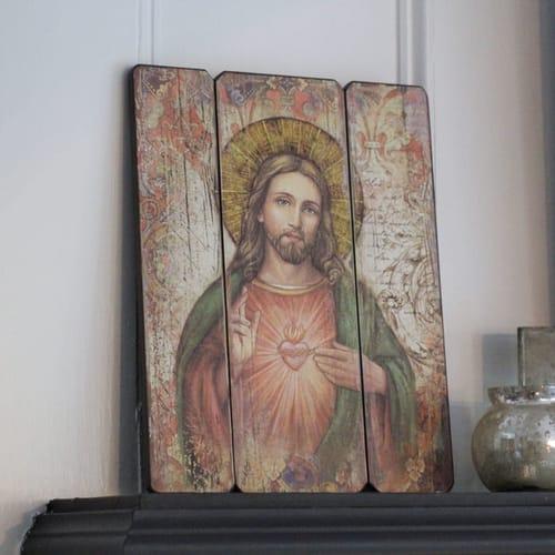 Sacred Heart Of Jesus Wall Plaque The Catholic Company