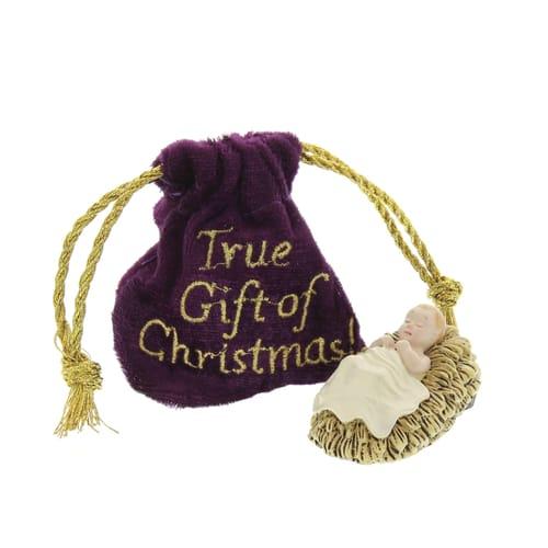 True Gift Of Christmas Baby Jesus Figure The Catholic