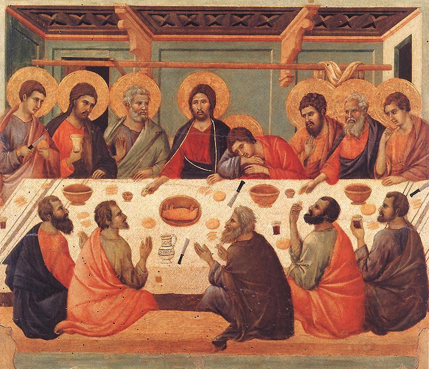 The Last Supper by Duccio