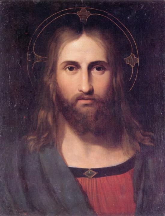 """Giuseppe Craffonara's """"Portrait of Christ"""""""