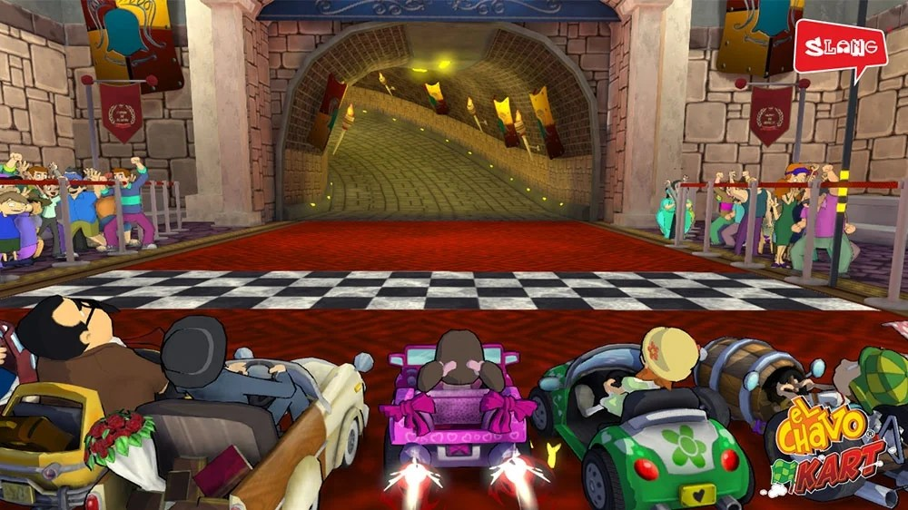 New El Chavo Kart Screens Race In