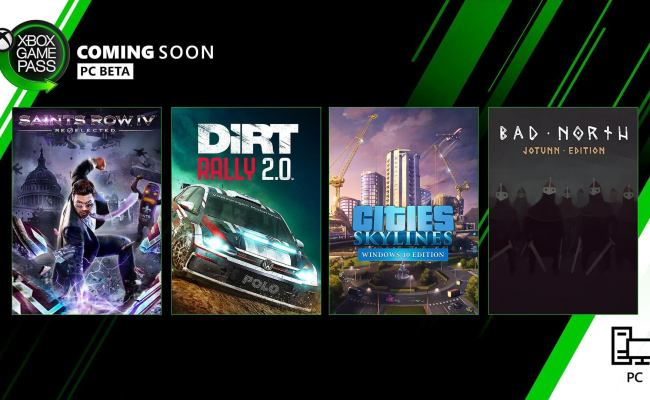 Four New Games Coming To Xbox Game Pass For Pc