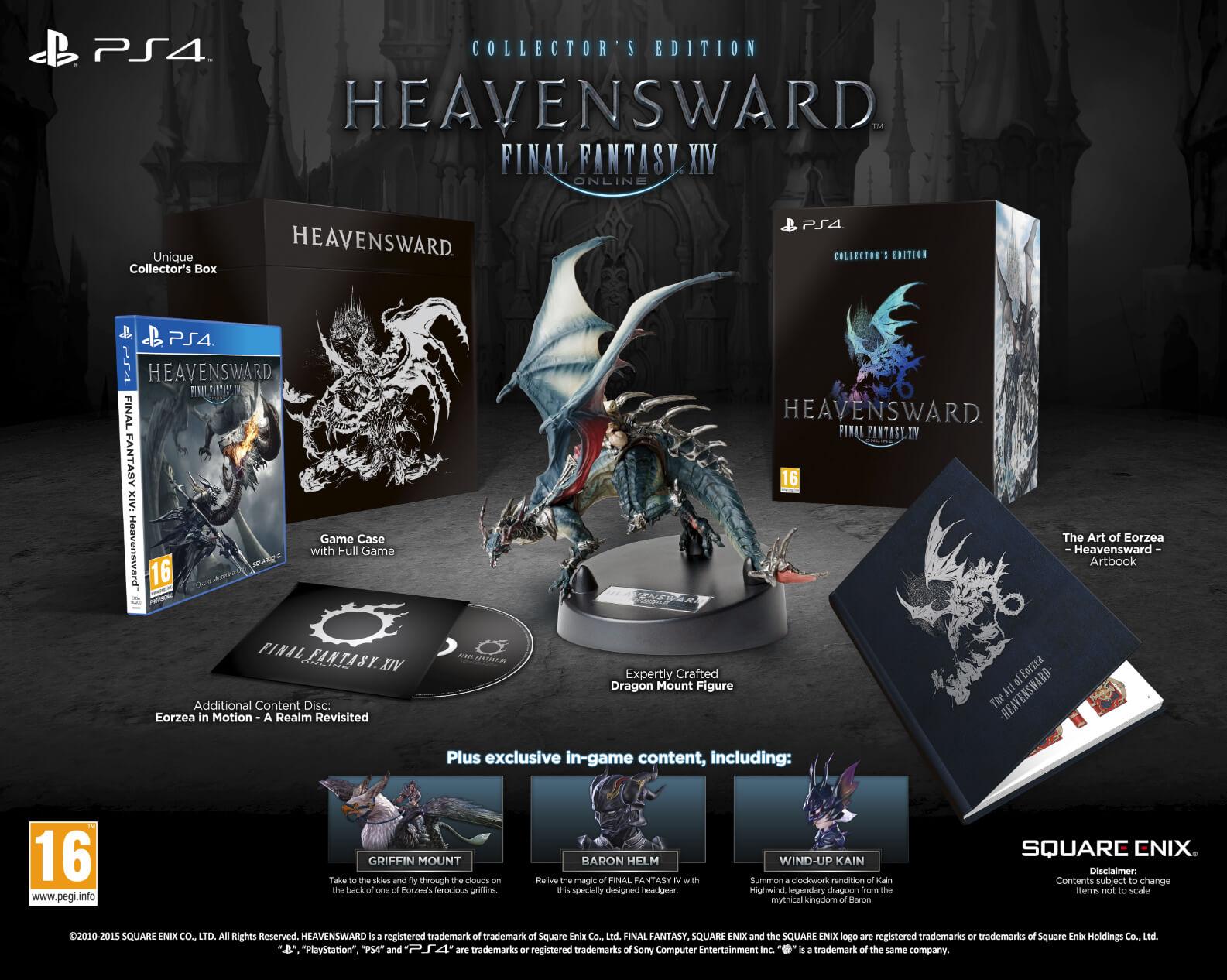 FFXIV Heavensward Collectors Edition And More