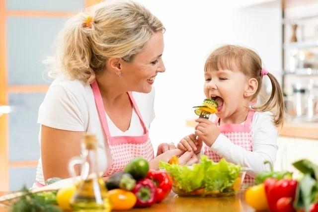 Como abrir o apetite da criança