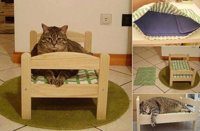 18 Sensacionais casinhas e caminhas para ces e gatos