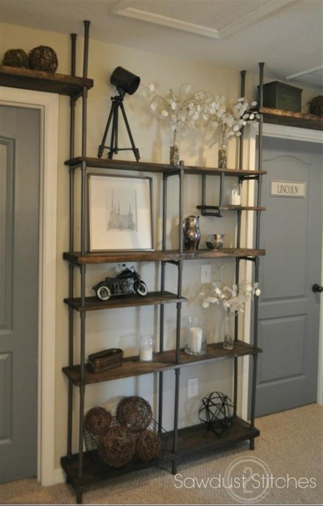 black kitchen storage cabinet chandelier 22 ideias para decorar e organizar sua casa com tubos de pvc
