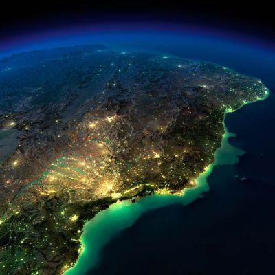 A noite na Terra | 23 Fotos incríveis do planeta visto do ...