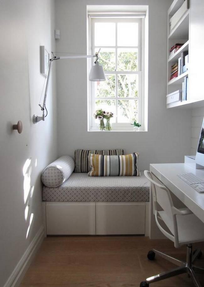 12 Truques para ajudar um quarto pequeno a parecer bem maior