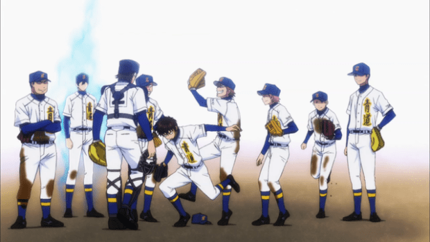 Ace Of Diamond Wallpaper: I Drink And Watch Anime