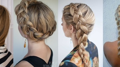 French Braid Hairstyle Tumblr