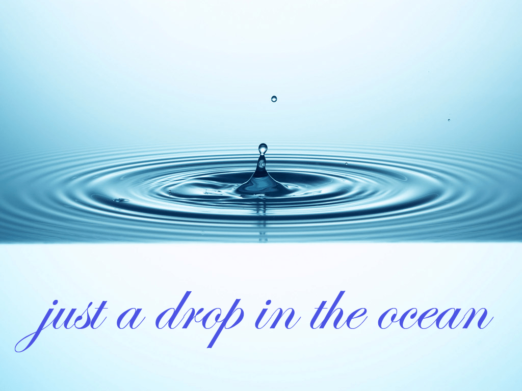 Image result for drop in the ocean