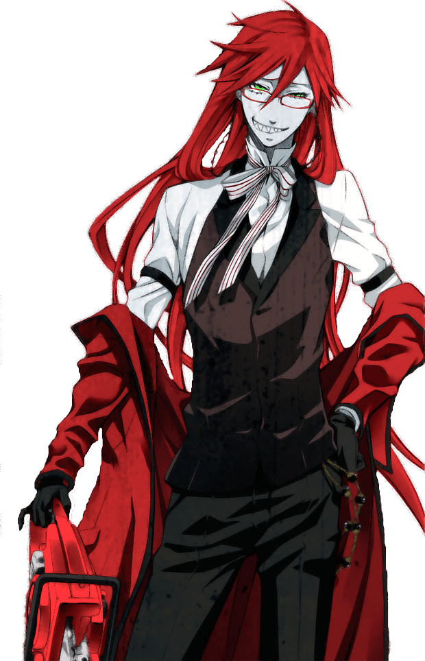 Black Butler Undertaker Full Body